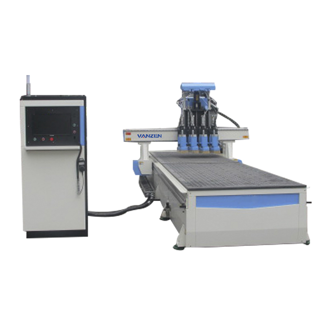 Vacuum table 9.0 kw industrial mini wood cnc machine for woodworking
