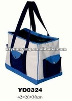 Fabric carrying soft dog show cage