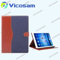 2014 Newest fashion 3 folds smart cover leather case for ipad mini 3