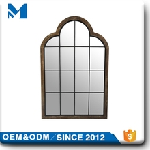 Style Metal Hotel Wall Craft Decoration Two Way Mirror Strip Rectangle
