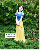resin sculpture /snow white and the seven dwarfs /FRP cartoon statue