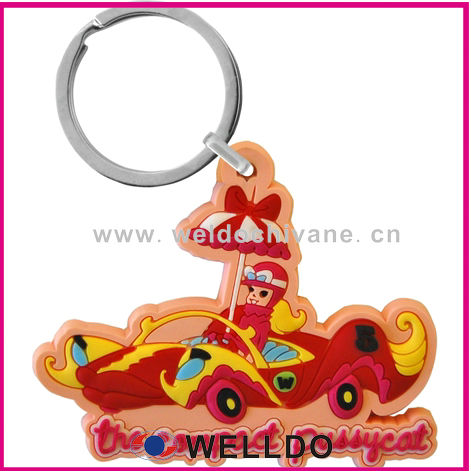 2013 multi-purpose soft pvc key chain