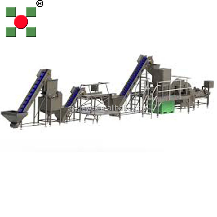 Commercial automatic potato chips cutter/industrial potato chips making machine/potato chips plant for sale