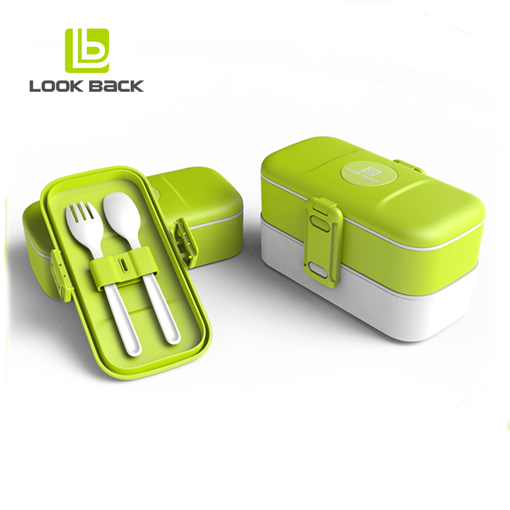 eco-friendly take away plastic food bento box kids lunch boxes