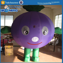 Inflatable purple vegetable cabbage high quality custom mascot costume