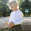 YY10462G European and American style new fashion design children girls skirt and blouse sets