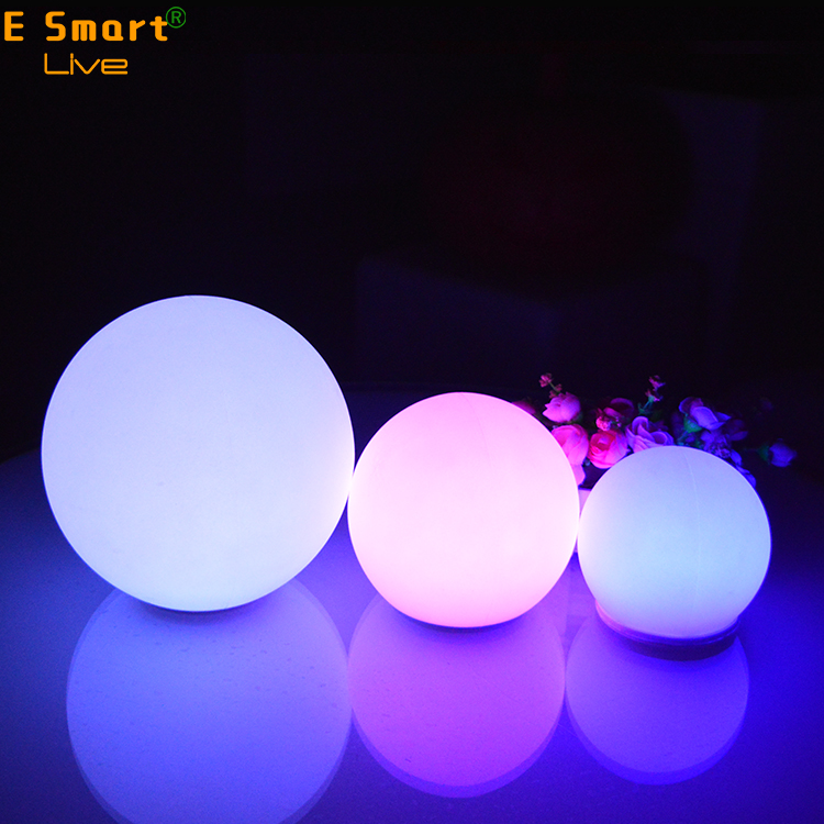 colorful large christmas glass floating led rotating disco mirror ball