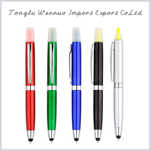 Promotional various black highlighter pen