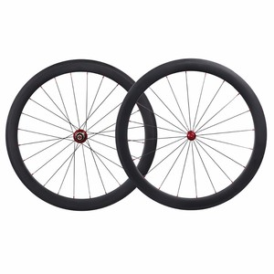 1650g road racing wheelset aero spokes carbon wheels clincher 50mm