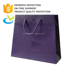Lower price recycled custom printed white kraft gift paper bag,paper shopping bag