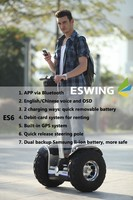 Single person electric transport vehicle/Two wheel self balancing scooters