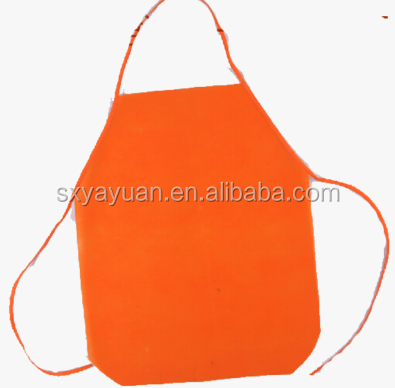 non woven apron for kids/women PP non woven waterproof butchers apron Laminated with