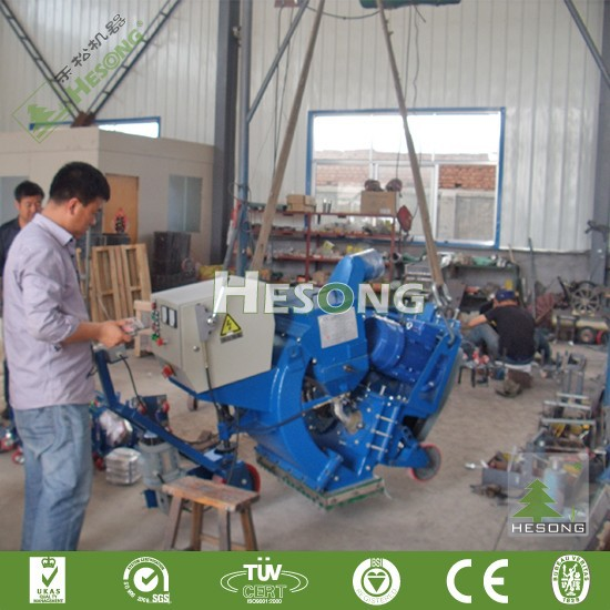CE Approved Portable Surface /highway/airport / Road Surface Shot Blasting Machine