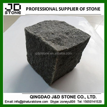 low price basalt stone landscaping cobble stone cube stone