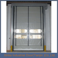 Industrial electric warehouse fast automatic rolling door