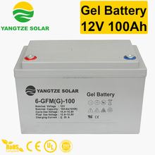 Top sale 12v 100ah solar golden power battery
