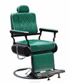 Classic green salon furniture barber chair Multi-function styling chair H-B044