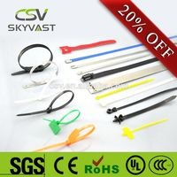 100% PA66 high quality SGS Rohs strong cable tie