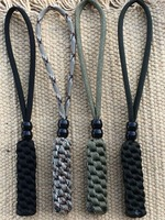 Paracord Knife Lanyards -FITS - Hunting, Fishing, Camping Knife -Combo Pack