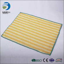 microfiber cloth cleaning drying towel for glass dish washing pad