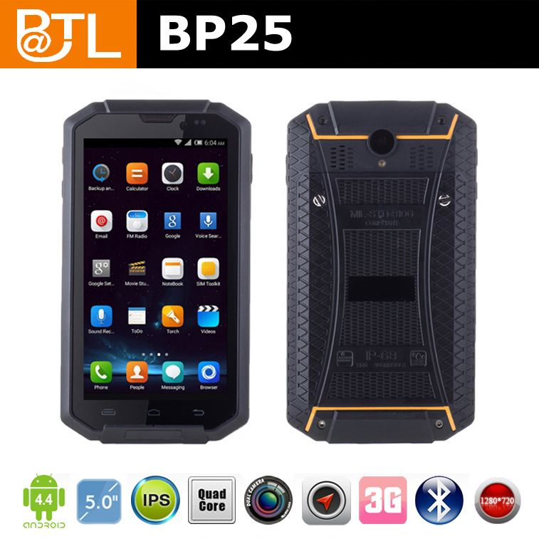 YL0996 BATL BP25 IP67 waterproof floating mobile phone Corning grilla III touch screen LCD