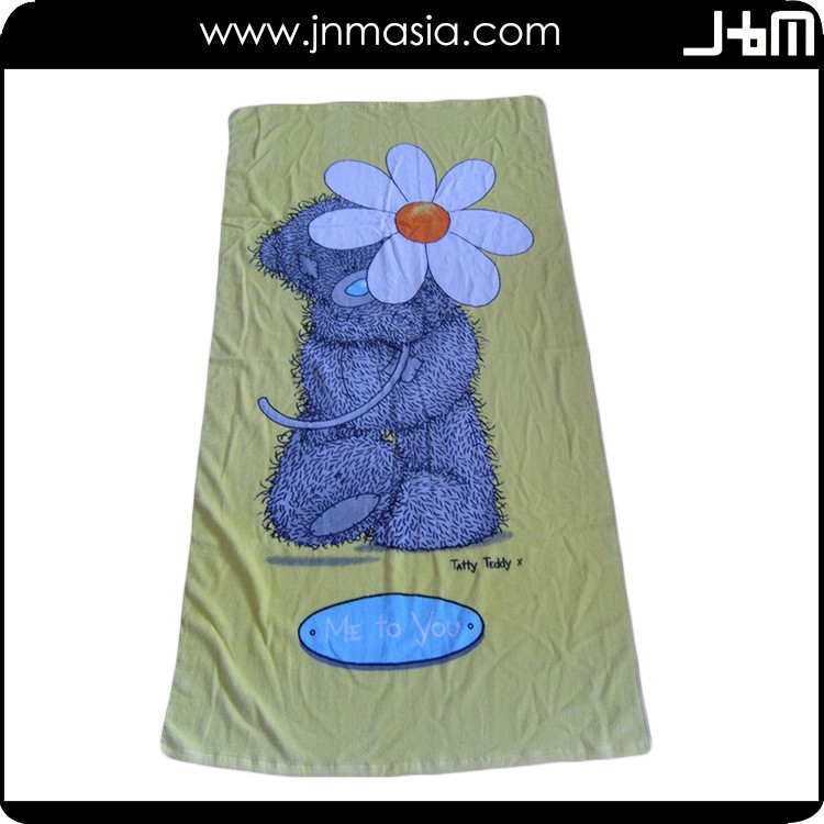 Promotional top quality holiday beach towel