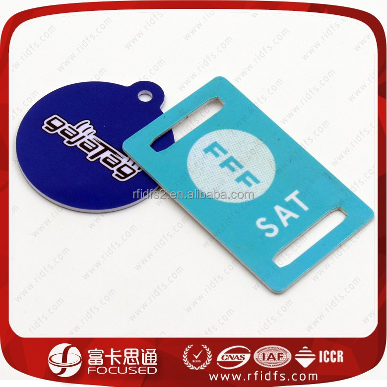 Custom printable rfid nfc pvc club membership card discount card hotel key card