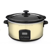 5.5L home round slow cooker electric with CE,ETL XJ-13221