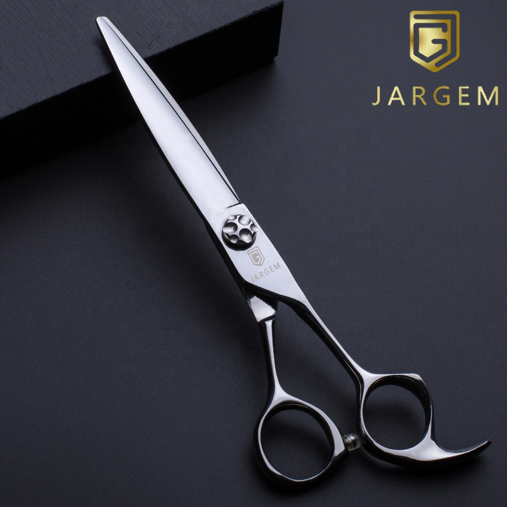 Japan VG10 Hair Scissors Professional Barber Scissors For Sliding Cutting
