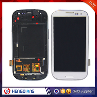Popular Item for samsung galaxy s3 white touch screen lcd with middle frame