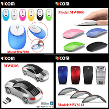 Arc Shape Branded 2.4ghz Wireless Optical Mouse Foldable Wireless Mouse