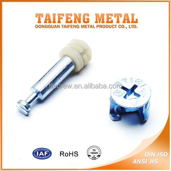 high strength galvanized carbon steel m6 furniture bolts