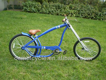 24 inch hybrid hot sale with colorful frame adult bicycle chopper