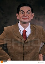 People sculptures Life size mr bean wax figure