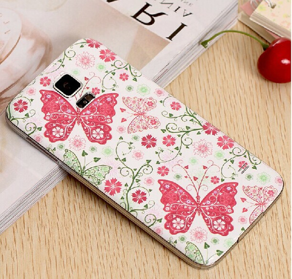for Samsung Galaxy S5 Butterfly phone case