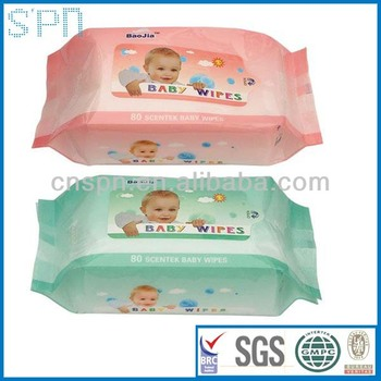 biodegradable baby wet wipes manufacturers with aloe vera and vitamin e