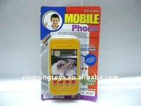 plastic electric musical Iphone 4 mobile phone toy