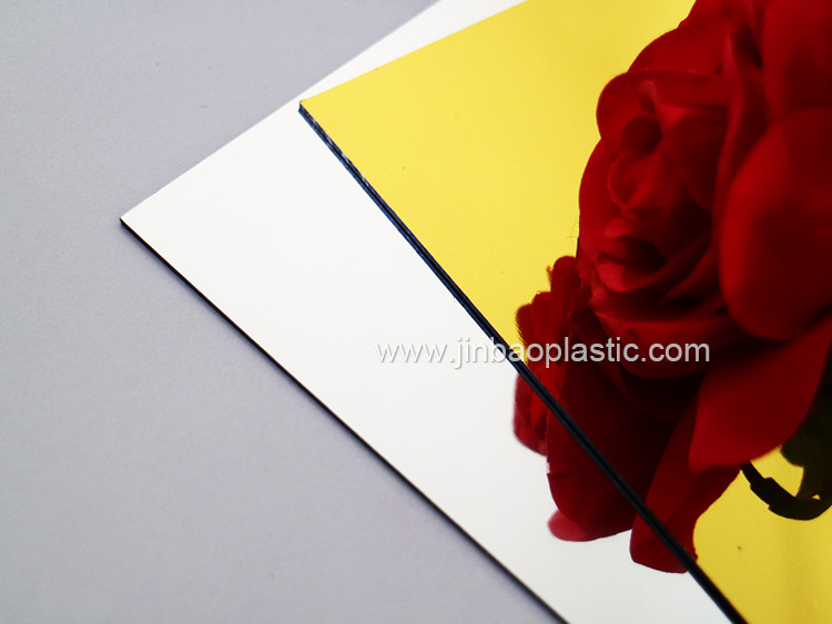 JINBAO 60x120 laser cnc engraving abs double color plastic sheet
