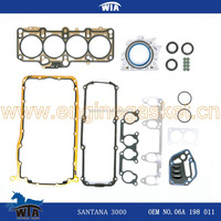car parts engine gasket kit for Santana 3000 of OEM:06 A198 011