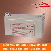 12v 120ah rechargeable battery for solar power bank gel battery and deep cycle battery