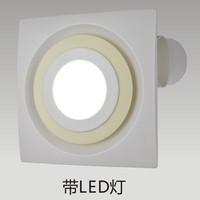 110V Home Bath Exhaust Fan With LED Light