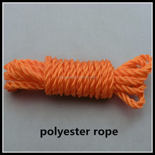 Free sample high quality braided polyester string strong hemp rope for cargo