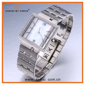 Assisi 2015 new design thin watch for men and women,high quality jewelry product on alibaba express