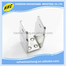 OEM precision non-standard stainless steel welding fence post bracket