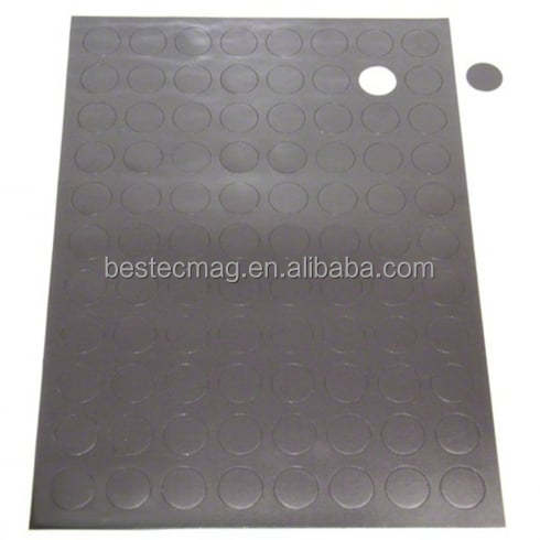 Self Adhesive Magnetic Dots (20mm dia x 0.7mm)