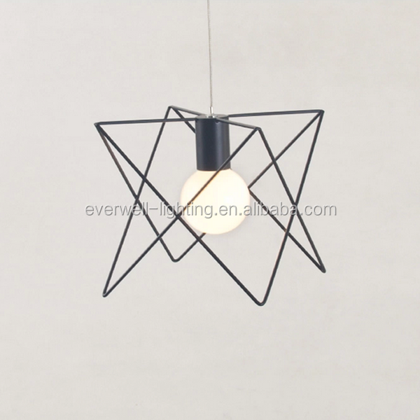 Industrial Wire Metal bird Cage Light Vintage Style Pendant LED Lighting