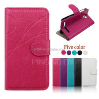 Hot selling mobile phone case design flip leather cover for Vodafone Smart 4 mini 785