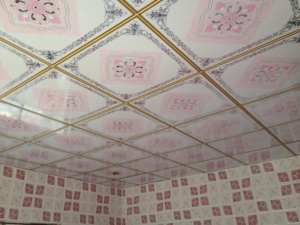 Pvc ceiling tile