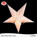 Home decoration star shaped hanging lamp