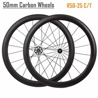 Ultra Light 700C 50mm Clincher Carbon
